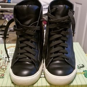 Jeffrey Campbell Wedge Sneakers (Rare Find)